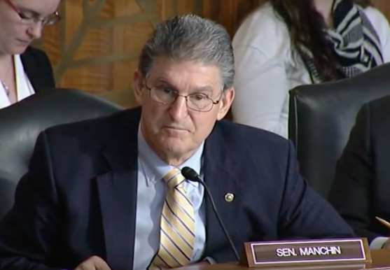 Oil Change USA Response to Manchin as Dem. Ranking Member on Senate Energy Committee