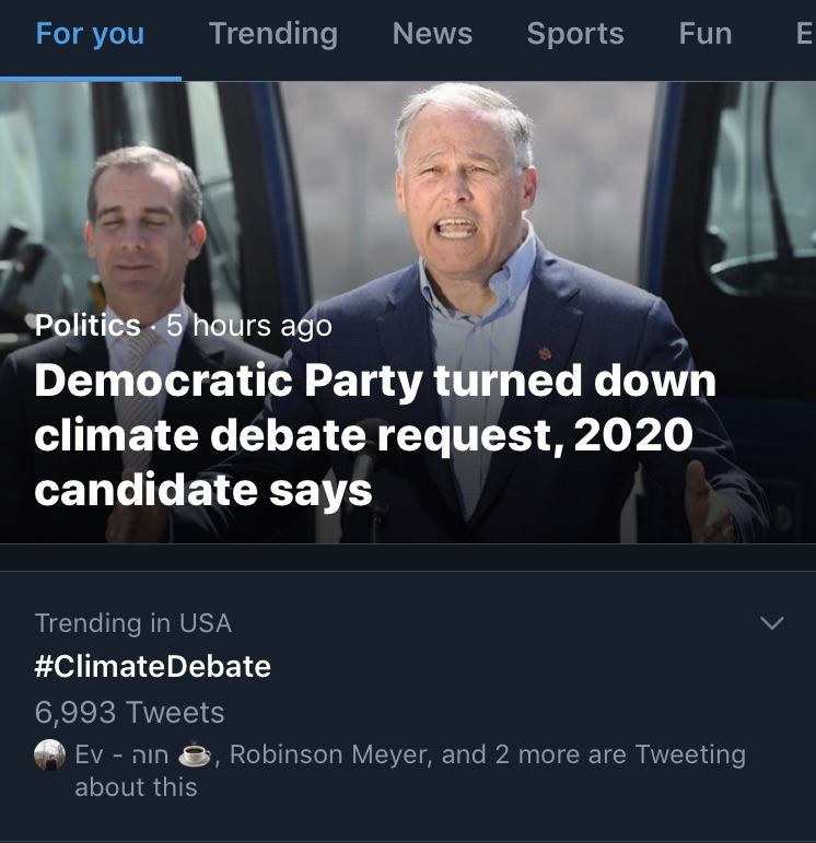 60 Questions We Could Ask at a #ClimateDebate
