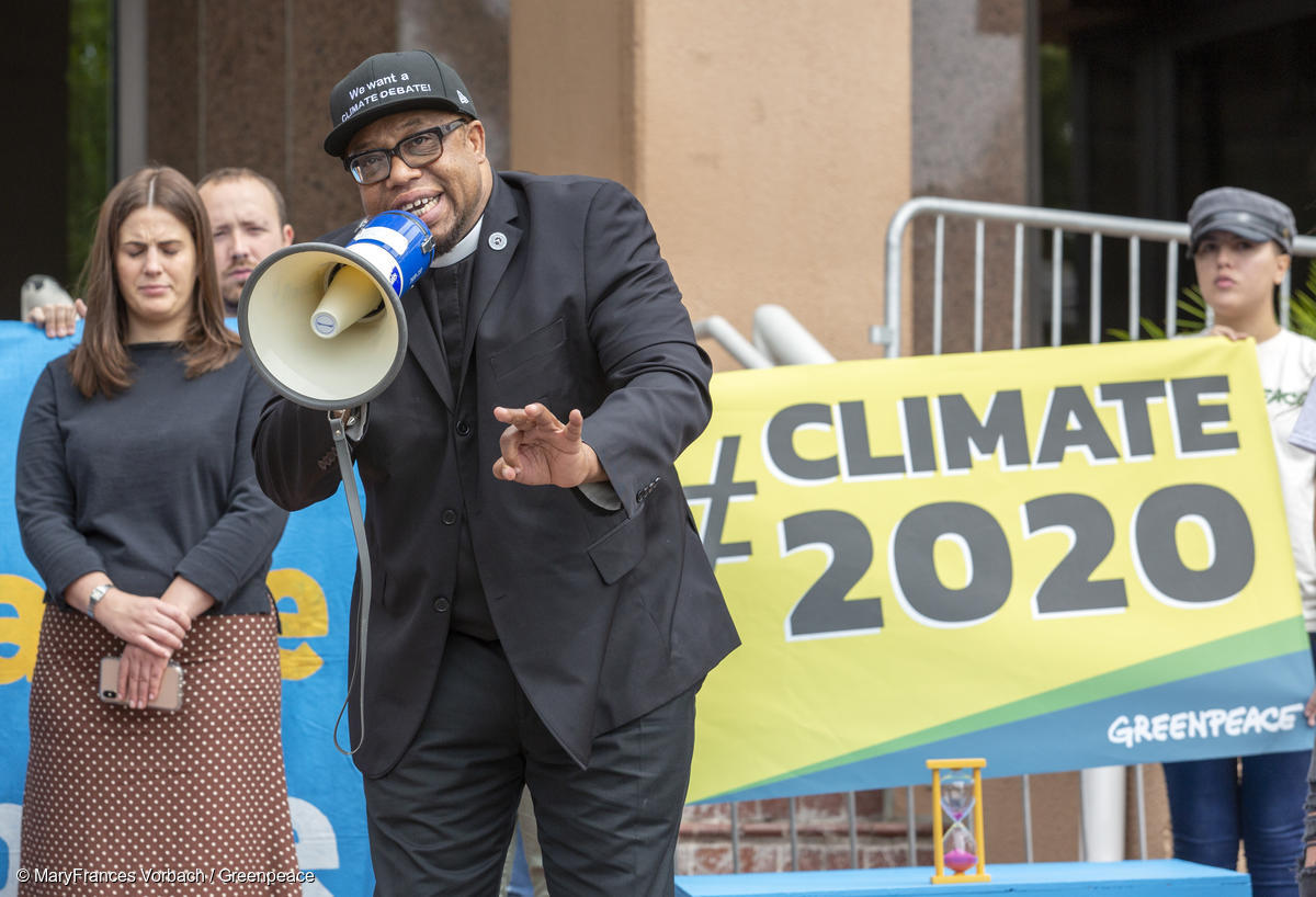 Activists Double Down, Bring Call for a Climate Debate to DNC Headquarters