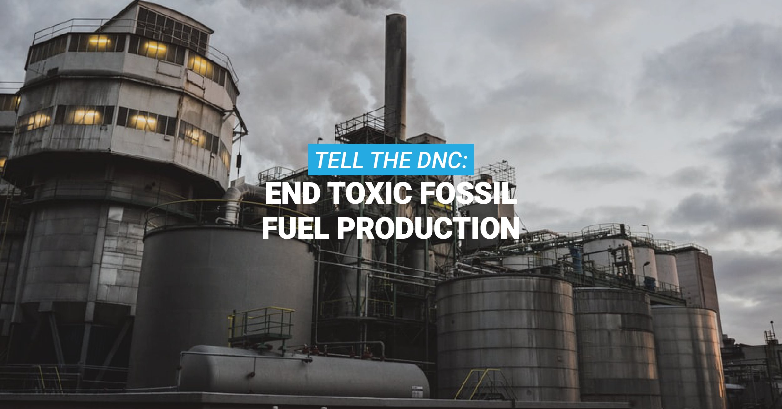 Tens of Thousands Urge Democrats to Strengthen 2020 Platform on Fossil Fuels